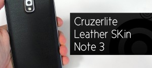 Cruzerlite Leather Skin Note 3