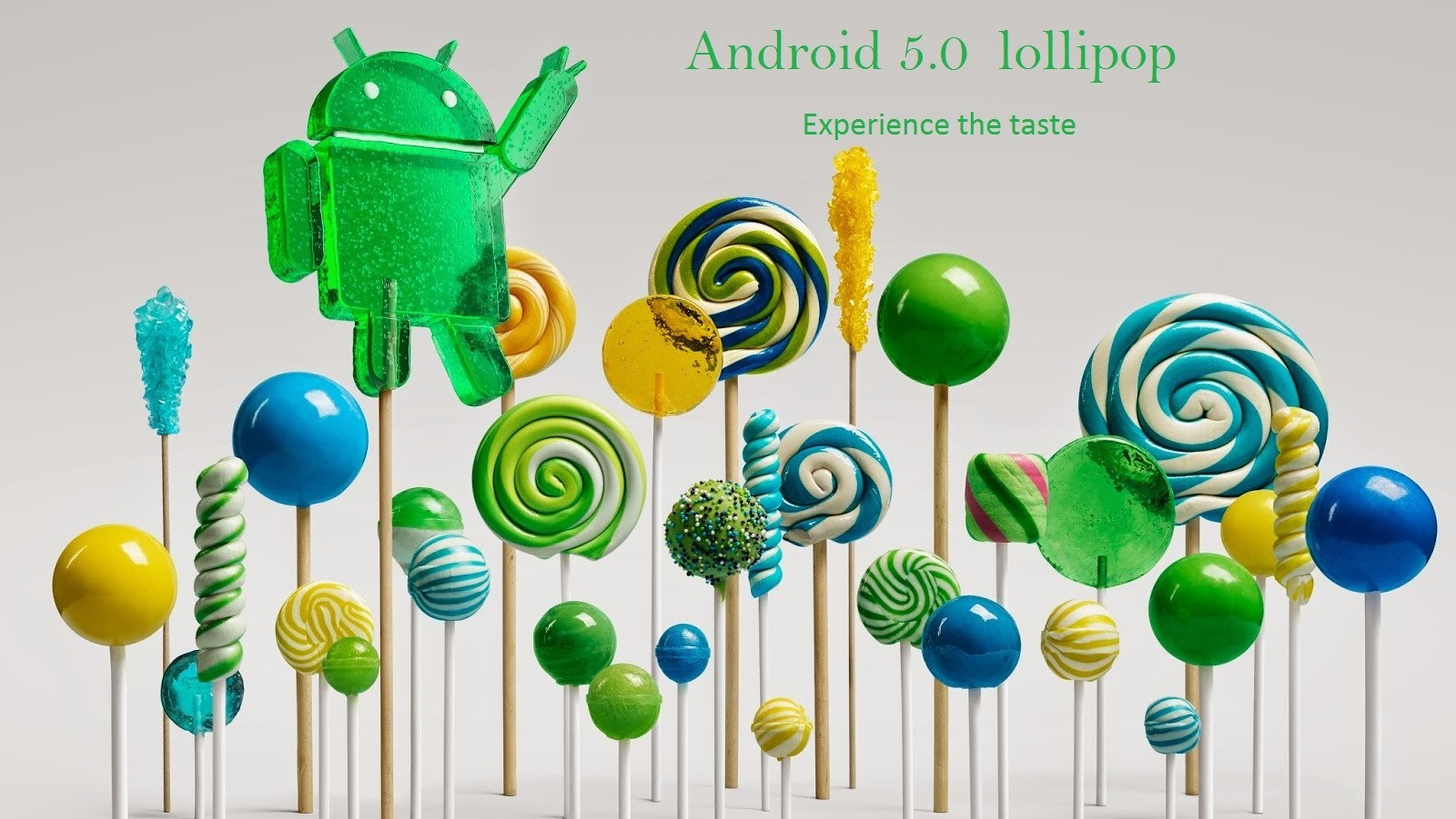 Android lollipop 5.0 - Now downloadable for the Nexus line Up