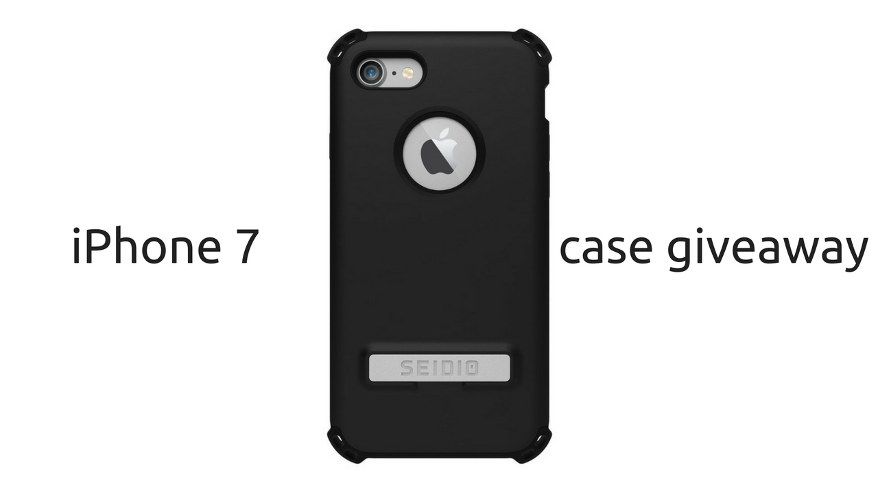 iPhone 7 Case Giveaway - Seidio Surface u0026 Dliex - Bane Tech